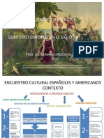 i Presentacion Historia de c.r i Contexto Europeo Descubrimiento