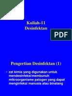 Kuliah-12- Desinfektan