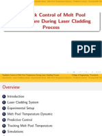 control of laser cladding