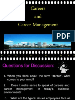 Final Career Management