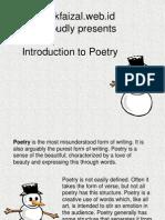 Unsur Unsur Puisi Lengkap