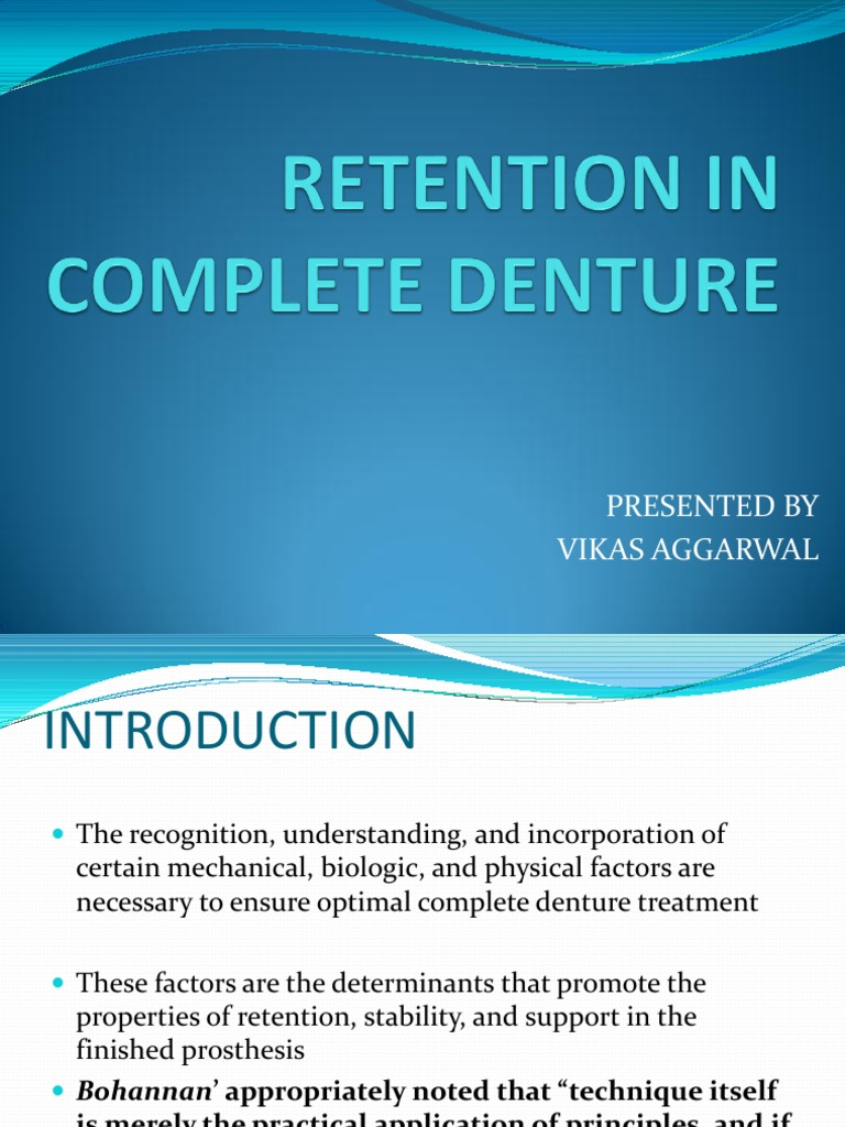 Textbook Of Complete Dentures Pdf