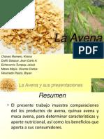 Avena, Quinua Avena y Maca Avena