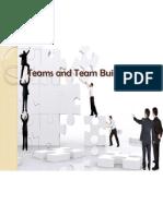 Teams and Team Buildings