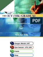 ICT Grade XI-Ganjil 2011