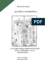 Base_15x23 Storia Della Gnomonica
