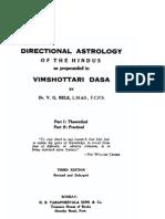 Vimshothary Dasa by v g Rele