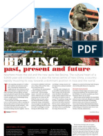 Beijing - past, present and future (cover story, Middle East Traveller magazine)