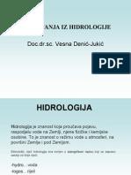 hidrologijavesna