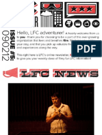 LFC Reel Time Newsletter | Issue 5