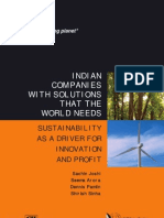 Sustainability Driver Innovation