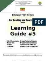 Learning Guide5 Bar Bending Tech Drawing2