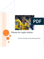 fitness for rugby referee workshop
