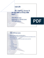 VSD Affinity Laws and Applications