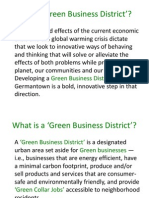 Why a Green Business District