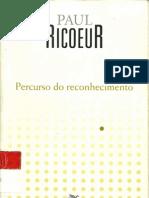 Percurso Do Reconhecimento - Paul Ricoeur