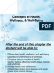 Concepts of Health,
