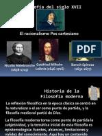 Filosofía racionalismo poscartesiano(Decimo)