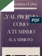 Cabra, Pier Giordano - y Al Projimo Como a Ti Mismo
