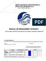 Manualul Calitatii ISO