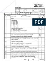 PT6A-27 HSI Check Sheet