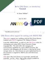 Ansys Mode Tutorials_macros