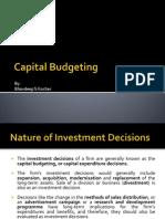 14760 Capital Budgeting