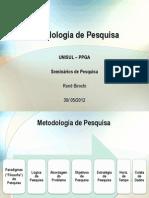 Metodologia de Pesquisa - Rene Birochi