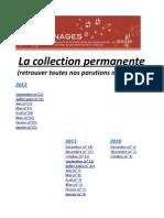Griffonnages _ La Collection Permanente à 22