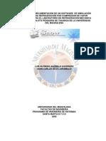DESARROLLO E IMPLEMENTACIÓN DE UN SOFTWARE  DE SIMULACIÓN PARA EL LABORATORIO DE REFRIGERACION MECANICA DE LA  PLANTA PILOTO PESQUERA DE TAGANGA DE LA UNIVERSIDAD DEL MAGDALENA
