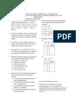 Cuestionario de Funciones