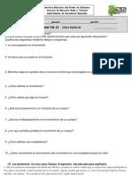 Examen de Ciencias Bloque I Parte I