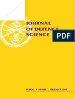 Journal_defence_science_(2003) Dstl, GEC, NATO, MOD, Multinational Experiments, ISTAR