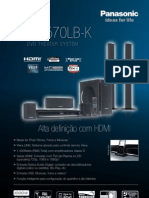 Home Panasonic PT570LB