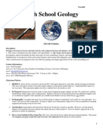 HS Geology Syllabus 2012-2013