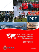 The DCDC Global Strategic Trends Programme
