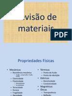 Revisão de materiais- materiais ferrosos