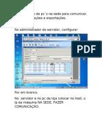 Configuração de pc_NA_SEDE _PARA_COMUNICAR