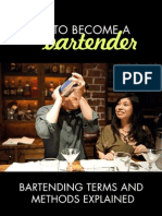Bartending Terms and Methods Explained