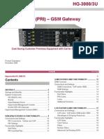 Hg 3000 3U Pri Gsm Data Sheet Dec 2009