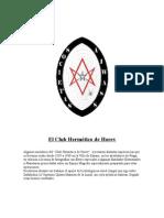 El Club Hermético Horev