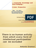 Multiculturalism, Community Knowledge and Critical Pedagogy (1)