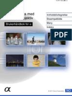 Sony NEX-7 brukerhåndbok (Norsk)