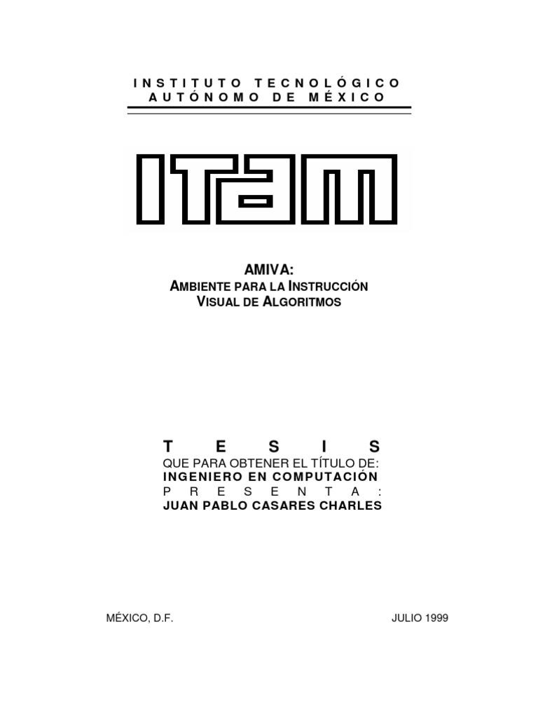 ejemplos de tesis de ing.sistemas computacionales