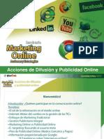 Acciones de difusión y Publicidad Online