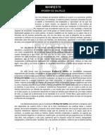 Manifiesto 132 Saltillo