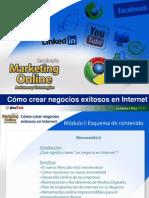 Cómo crear Negocios Exitosos en Internet