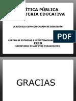 Politica Publica en Materia Educativa en Colombia