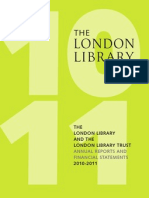 London Library Annual Report 2010-2011