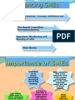 Financing SME's